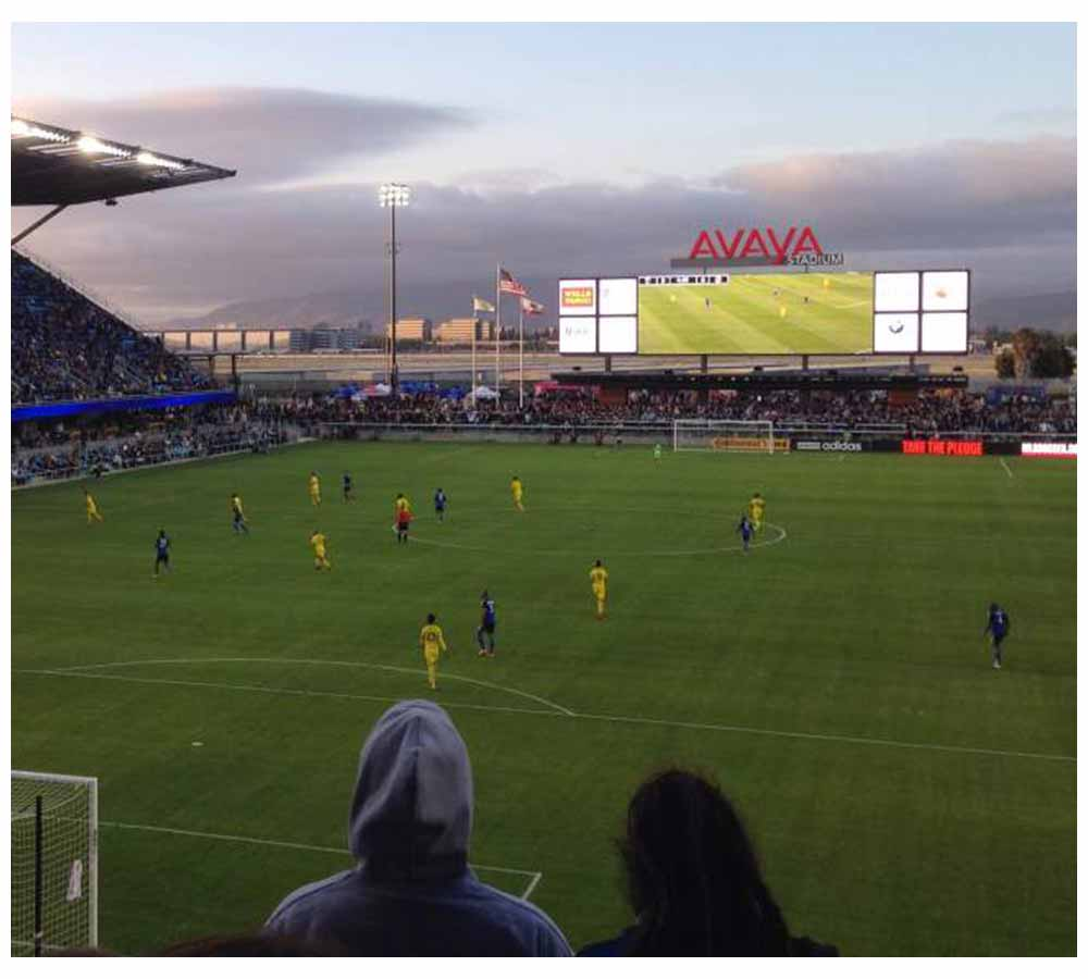Avaya Earthquakes Stadium